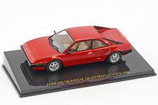 Ferrari Mondial Quattrovalvole Année Modèle 1982 rouge avec vitrine 1:43 Altaya
