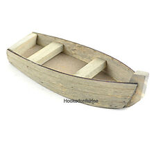 Wood Fishing Boat MI 85109 Miniature Fairy Garden