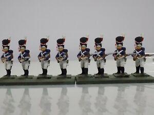 25mm Napoleonic French regulars or Guard set (8)