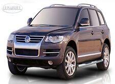 VW TOUAREG 2002 - 2010 BARRE LATERALI PEDANE SOTTOPORTA  INOX SPEDIZIONE GRATIS