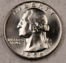 1956-D Washington Quarter ~ Gem BU++ ~ 90% Silver ~ 1 Coin.