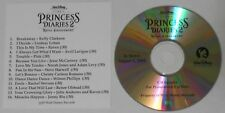 Princess Diaries 2: Kelly Clarkson, Lindsay Lohan, Avril Lavigne - U.S. promo cd