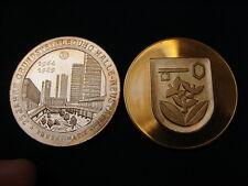 H. Re, 1989 (e722) píetra città stemma ha-NUOVO LANTERNE fisso Halle cu