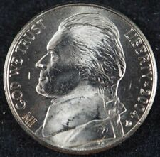 2004 D Jefferson KeelBoat Nickel 5 Cents (BU) Brilliant Uncirculated