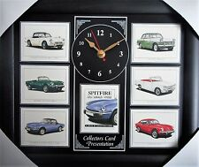 Triumph Spitfire GT6/Herald/Spitfire Stunning Collector Cards Wall Clock