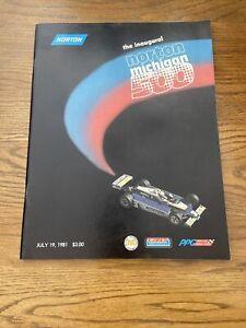 1981 Norton Michigan 500 At Michigan International Cart/Indycar Racing Program
