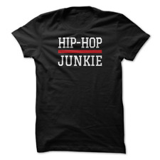 Mens Tshirt Hip Hop Junkie