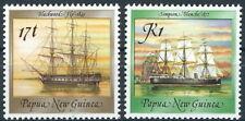 Papua Neuguinea - Historische Schiffe Satz postfrisch 1988 Mi. 565-566