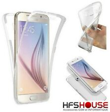 POUR SAMSUNG GALAXY J6 2018 COQUE HOUSSE ETUI FOLIO TRANSPARENT SILICONE COVER