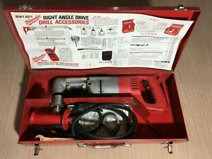 Milwaukee Heavy Duty Right Angle Drill - 1107-1 - Metal Case