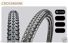NEW MAXXIS CROSSMARK Tire Mountain Bike MTB Tire Cross Mark 26 x 1.95 foldable