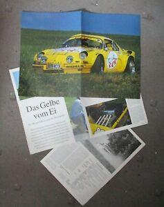 Alpine Post 4/1994 Magazin Bericht A110 1300 VC Tuning