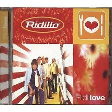 RIDILLO - Ridillove - CD RARO 1998 USATO OTTIME CONDIZIONI