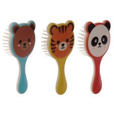 Kids Plastic Hair Brush Girls Boys Children Toddler Hairbrush for Wet and Dry