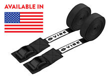 Vibe 15ft Cam Buckle Tie Down Straps (Two Straps)
