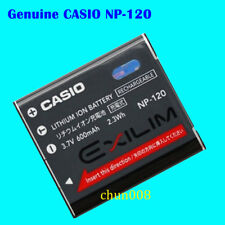 Genuine Casio NP-120 Battery For S200 EX-S300 EX-ZS15 EX-ZS20 ZS12 TZ20 EX-Z680