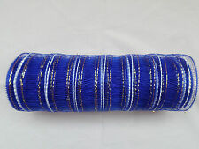 Royal Blue Deco Mesh 10 inches by 10 yards