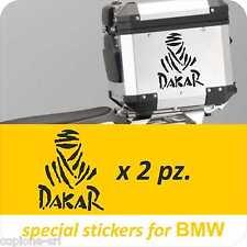2 Adesivi Moto BMW R 1200 1150 1100 800 gs adventure Dakar Baule Valigie Touareg