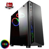 FAST Ryzen 5 2400g Quad Core 8GB Desktop SSD Gaming PC Computer Vega 11 pf147