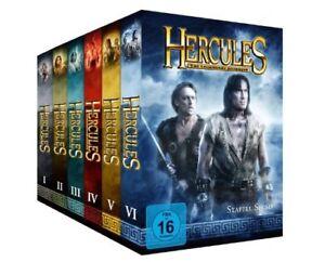 Hercules - The Legendary Journeys Complete Seasons 1+2+3+4+5+6 1-6 NEW UK R2 DVD