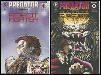 °PREDATOR vs MAGNVS ROBOT RIGHTER 1 bis 2 von 2° US Dark Horse/Valiant 1992