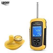 100M Fishing Sonar Wireless Fish Finder Alarm Sensor Transducer