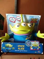 Toy Story 4 SPACE ALIEN - Talks and Sound Effects with Light-Up Antenna NEW