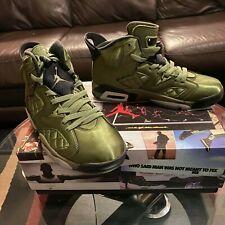 Air Jordan 6 Retro Pinnacle Palm Green - Shoe for Men Size 9