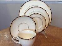 Wedgwood Cavendish bone china FIVE piece place setting R4680