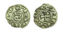 pci2697) Genova Repubblica (1139 - 1339) Denaro con Castello