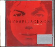 MICHAEL JACKSON CD INVINCIBLE 16 TRACCE Rara RED Cover 2001 copertina ROSSA