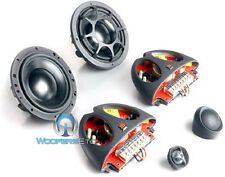 """MOREL ELATE 6 2W 6"""" 1000W MAX COMPONENT SPEAKERS MIDS TWEETERS CROSSOVERS NEW"""