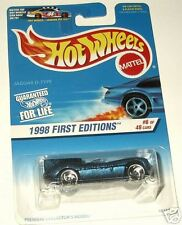 1998 Hot Wheels 1st Editions #6 Jaguar D-Type #638  rw