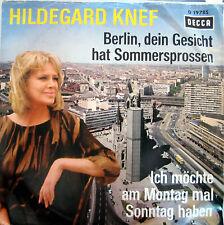 Single / HILDEGARD KNEF / SCHLAGER / RARITÄT /