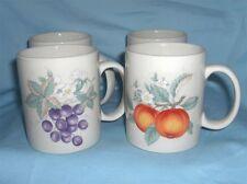 "Cups (4) Coffee Mugs,Decorative Cups 3"" D x 3.75"" H Xiangtangpai Made in China"