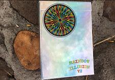 Rainbow Illusion Metallic Playing Cards V2 Deck Brand New Sealed