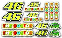 STARTNUMMER 46 , 13 x  Aufkleber Laminiert stickers MotoGP