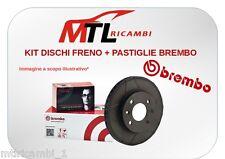 KIT DISCHI FRENO + PASTIGLIE BREMBO ANT. MINI COOPER D R56 109/112CV 80/82KW