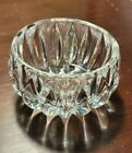 """Waterford lead glass bowl/container 2 3/4"""" x 1 1/2"""" ring/candy/salt bowl"""