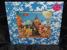 Rolling Stones Satanic Majesties Request SEALED 77 WHITE VINYL LP W/HYPE STICKER