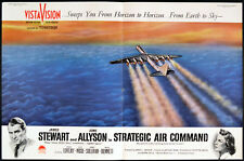 STRATEGIC AIR COMMAND 1955 James Stewart, June Allyson 2 TRADE ADVERTS