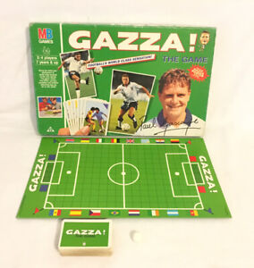 Gazza The Game Board Game 1990 MB Milton Bradley *CompleteContents* BoxedVintage