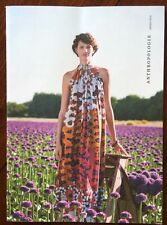 Anthropologie Catalog - August 2014 Issue Photographed In Amsterdam