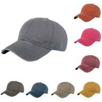Fashion Women Men Adjustable Solid Cap Colorful Flower Print Baseball Hat Shade