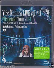 New Yuki Kajiura FictionJunction LIVE vol.#11 elemental Tour 2014 Blu-ray Japan