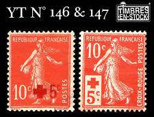 YT N°146 & 147 NON OBLITÉRÉS !!!