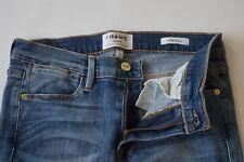 NWOT FRAME Forest LHSK133 blue le high skinny distressed jeans women size 29