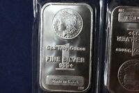 1 oz. Highland Mint Silver Bar - Morgan Dollar Design .999+ Fine SEALED