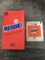 "1978 ""Reggie!"" Candy Bar Display Box And Wrapper Original Reggie Jackson Curtiss"