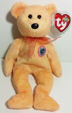 """TY Beanie Babies """"SUNNY"""" Internet Exclusive Bear - MWMTs! RETIRED! PERFECT GIFT!"""